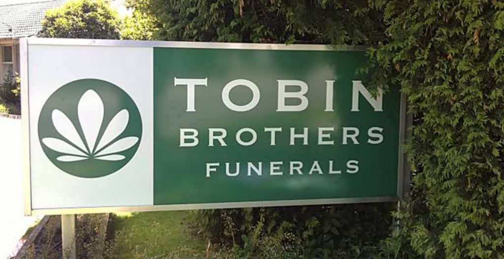 WHO OWNS TOBIN BROTHERS FUNERALS: Victoria