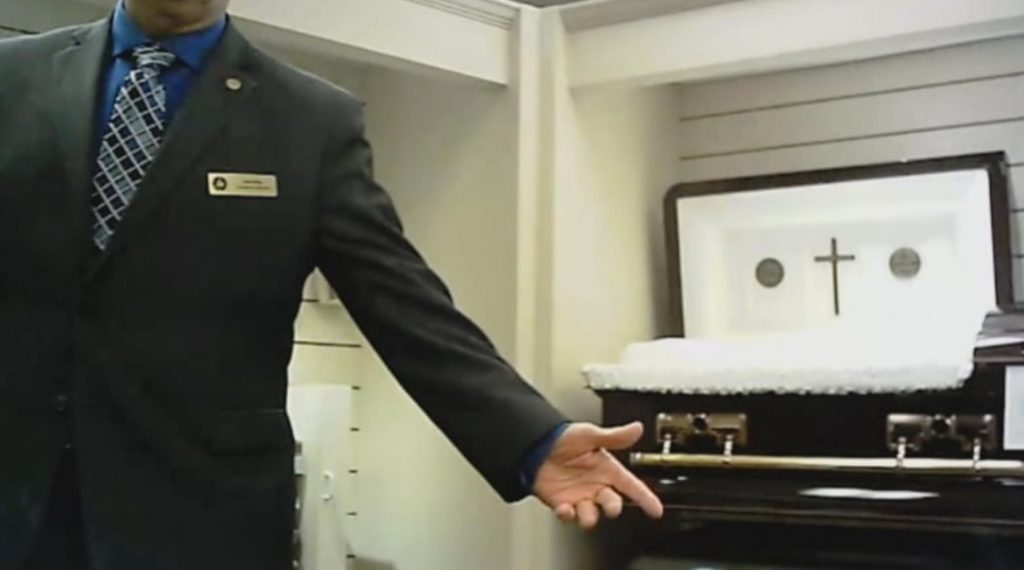 MISLEADING SALES PRACTICES BY FUNERAL STAFF