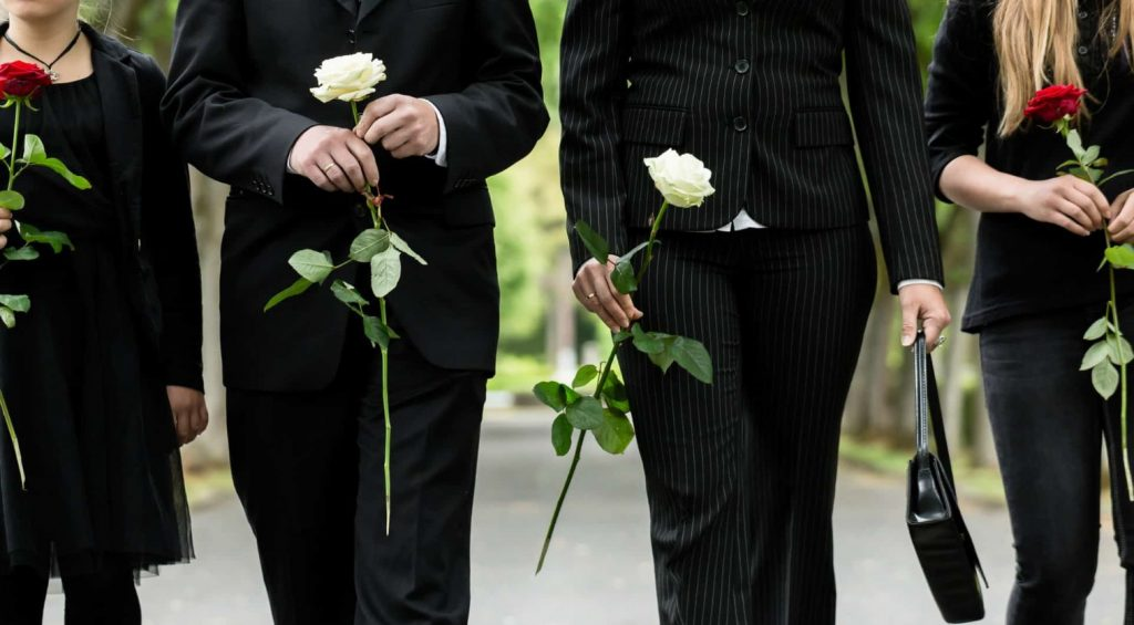 HOW TO FIND DETAILS OF FUNERAL SERVICE