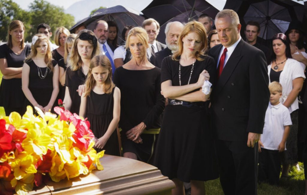 SHOULD YOU GO TO THE FUNERAL?