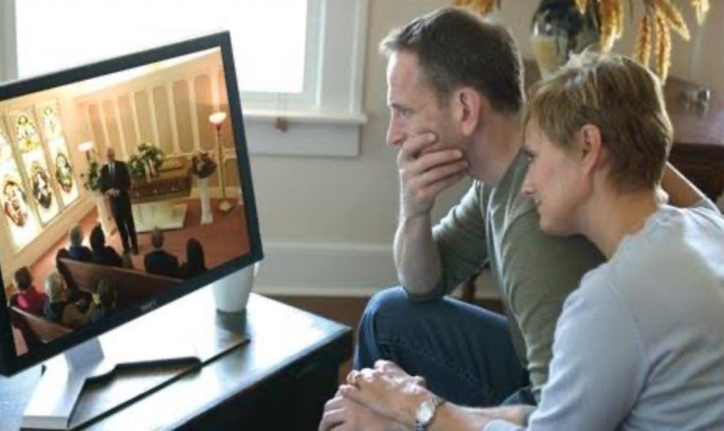 LOCAL FUNERAL DIRECTORS ADAPTING TO SOCIAL DISTANCE GUIDELINES BY LIVE STREAMING FUNERALS