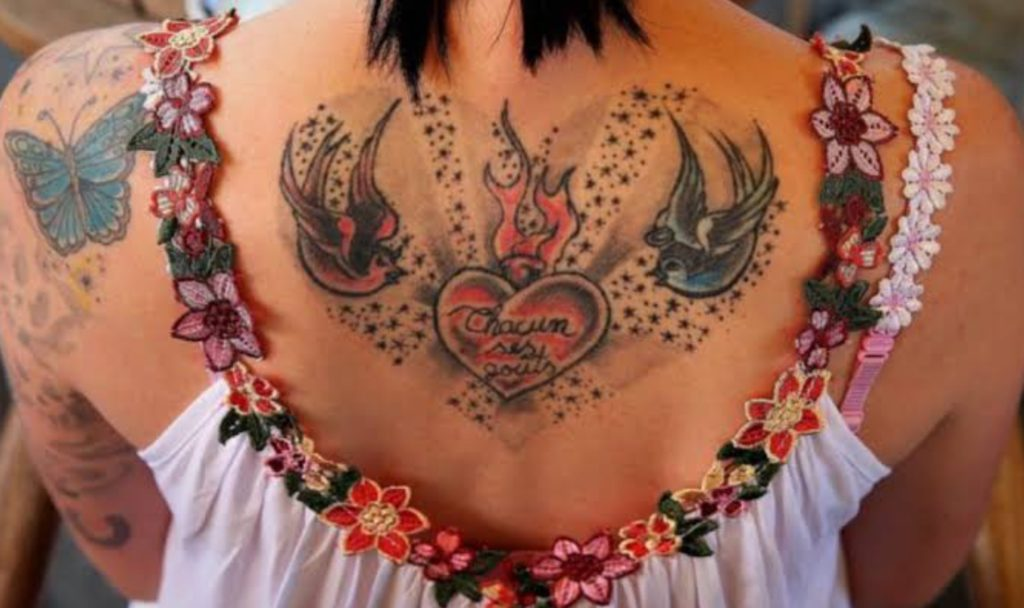 CREMATION ASHES TO BODY ART