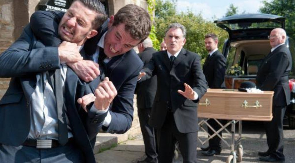 FAMILY BREAKDOWN AND FUNERAL STRESS