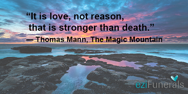 It Is Love, Not Reason, That Is Stronger Than Death